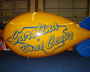 advertising blimps and custom balloons made in the USA.
