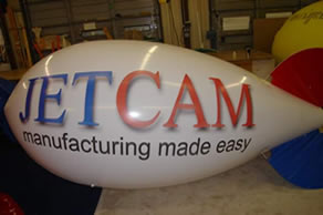 blimp for advertising - helium advertising blimps increase your visibility!