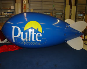 Pulte Homes Custom Blimp