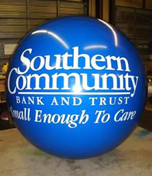 7 ft balloon with custom artwork $533.00 Send your artwork for a free quote.